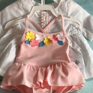 Other - Newborn girl bathing suit